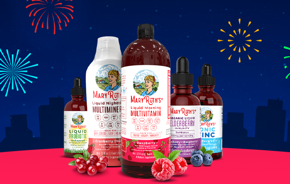 Here at MaryRuth's, we believe that making the best supplements for your health means creating products with non-GMO, plant-based, vegan ingredients, with the fewest number of allergens as possible. We do our best to find only the highest quality ingredients and to formulate good-tasting products that assist in maintaining your health and aid your body on your way to wellness!