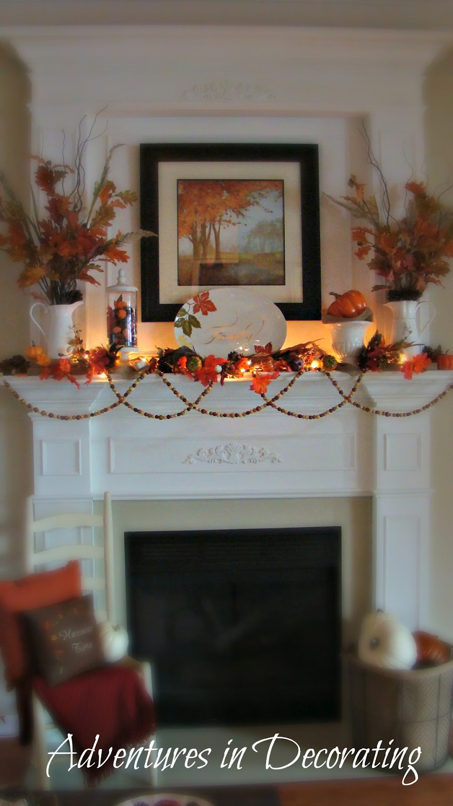 Adventures In Decorating Our Fall Kitchen: Adventures In Decorating: And, We're Off