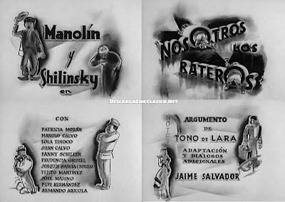 Introducción de la película » Nosotros los rateros (1949)