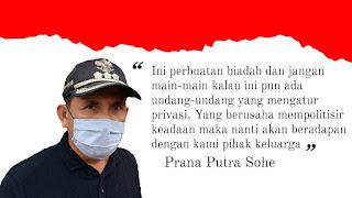 Nanan : Pemkab Mura Jangan Berlebihan Sikapi Sakitnya Ratna