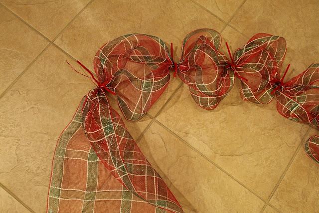 How To Make A Deco Mesh Garland Miss Kopy Kat