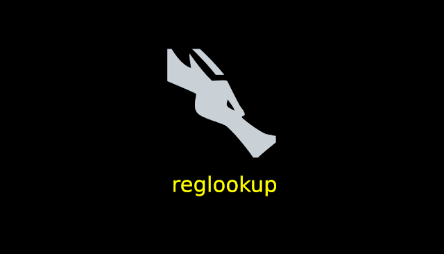 الدرس 250 شرح اداة reglookup