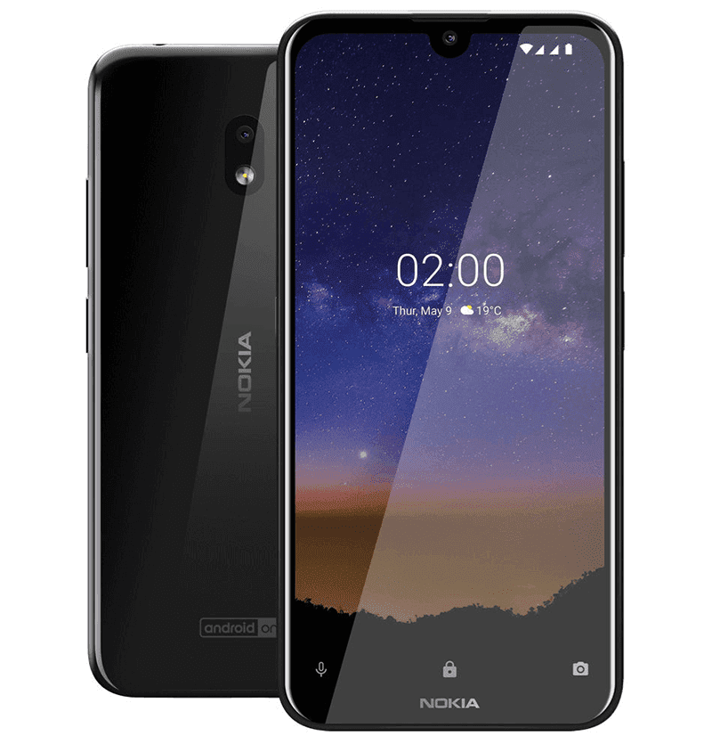 Big screen with small notch