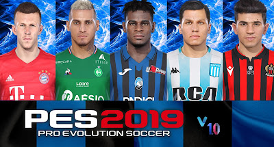 PES 2020 Facepack for PES 2019 Vol 1