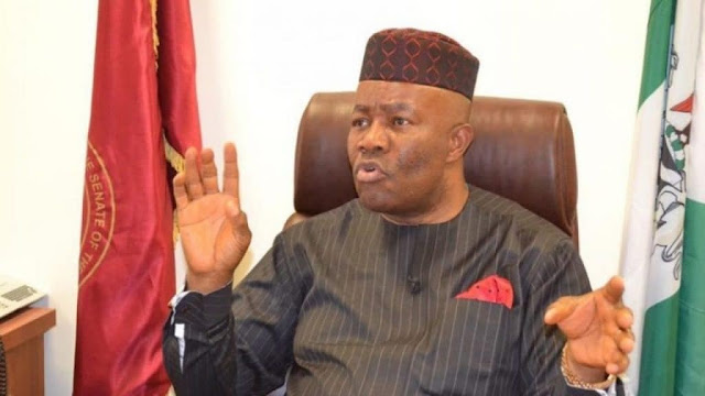 Akpabio links Ibori, Uduaghan, Kalu to NDDC projects