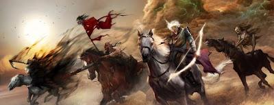 los 4 jinetes del Apocalipsis.