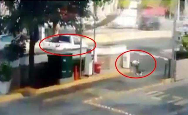 Video; Así fue el momento exacto que sicario dispara a jovencito en territorio del CJNG