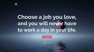 Passion, Kerja, Karir, Uang