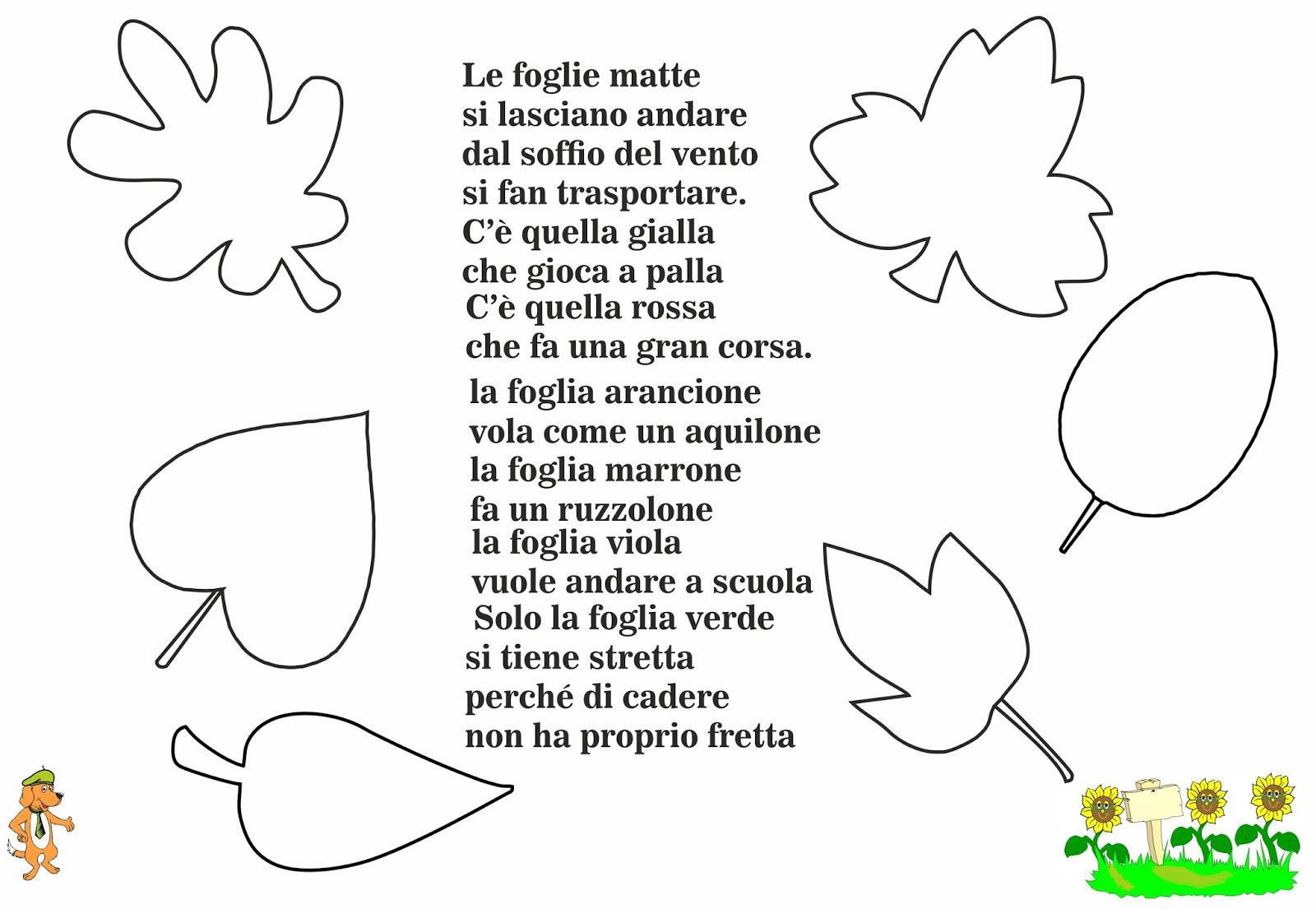Preferenza Progetto Stagioni: L' Autunno E Le Foglie - Lessons - Tes Teach BG34
