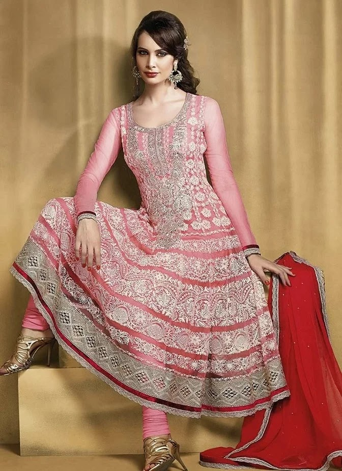 Frock style dresses in pakistani