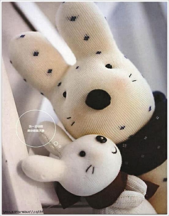Мягкие игрушки из носок. |  Sock Toys  DIY tutorial.