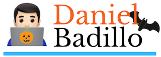 Logo Soy Daniel Badillo Halloween