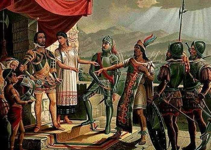 Moctezuma ditawan