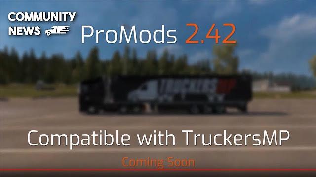 TruckersMP için ProMods 2.42 harita modu