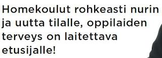 Pekka Korpivaara Kouvola Homekoulut nurin