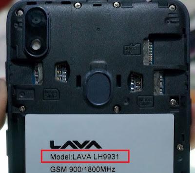 Lava iris 54 LH9931 Flash File