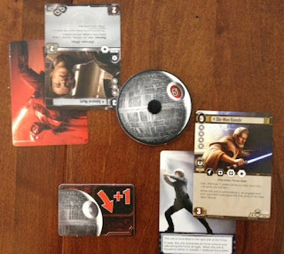 Star Wars battle of cards