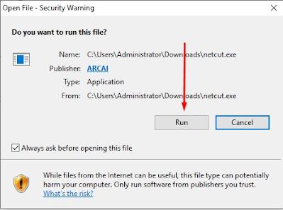 Cara Instal Netcut Pada Windows 10 Terbaru