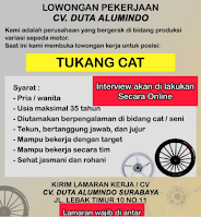 Lowongan Pekerjaan di CV Duta Alumindo Surabaya Juni 2021
