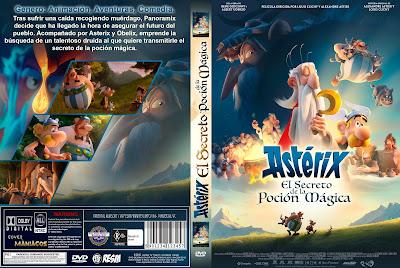 CARATULA - ASTÉRIX Y EL SECRETO DE LA POCIÓN MÁGICA - Astérix: Le secret de la potion magique - 2019