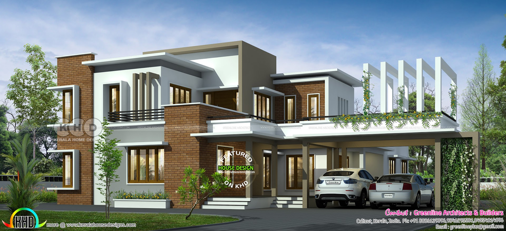 4 bedroom ultra modern luxury house - Kerala home design ...