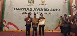 Solopeduli raih 3 penghargaan di baznas award 2019