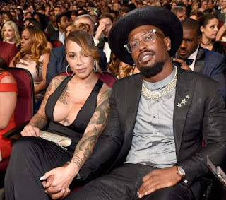 Von Miller With His Wife Megan Denise