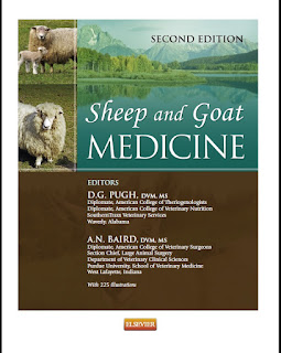 Sheep and Goat Medicine 1st Edition