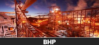 호주 주식 ASX: BHP 비에이치피 빌리톤 주식 시세 주가 차트 - 월간 주간 일간 차트, NYSE:BHP, LSE:BLT, JSE:BIL, BHP Billiton Stock Price Chart