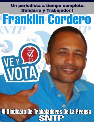 Franklinn Cordero al SNTP