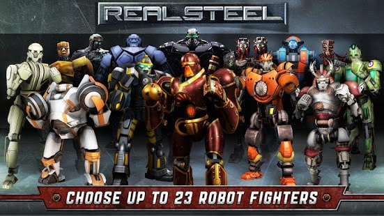 Real Steel HD Apk Data