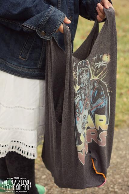 DIY Star Wars T-Shirt Tote Bag