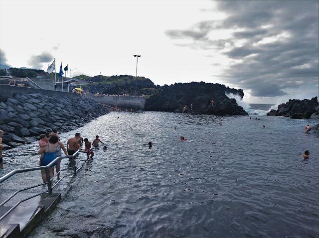 Poços de San Vicente de Ferrerias en Sao Miguel (Açores)