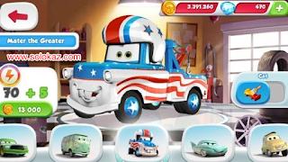 Cars: Fast as Lightning Mod Apk v1.3.4 Unlimited Money Gratis Terbaru