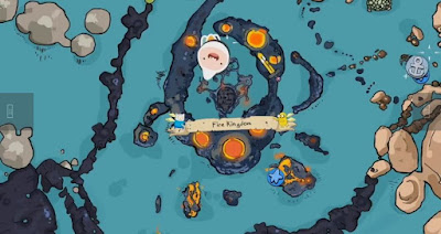 Penguin, Gunter Locations, Pirates of the Enchiridion, Adventure Time, Fire Kingdom, Penguin 2