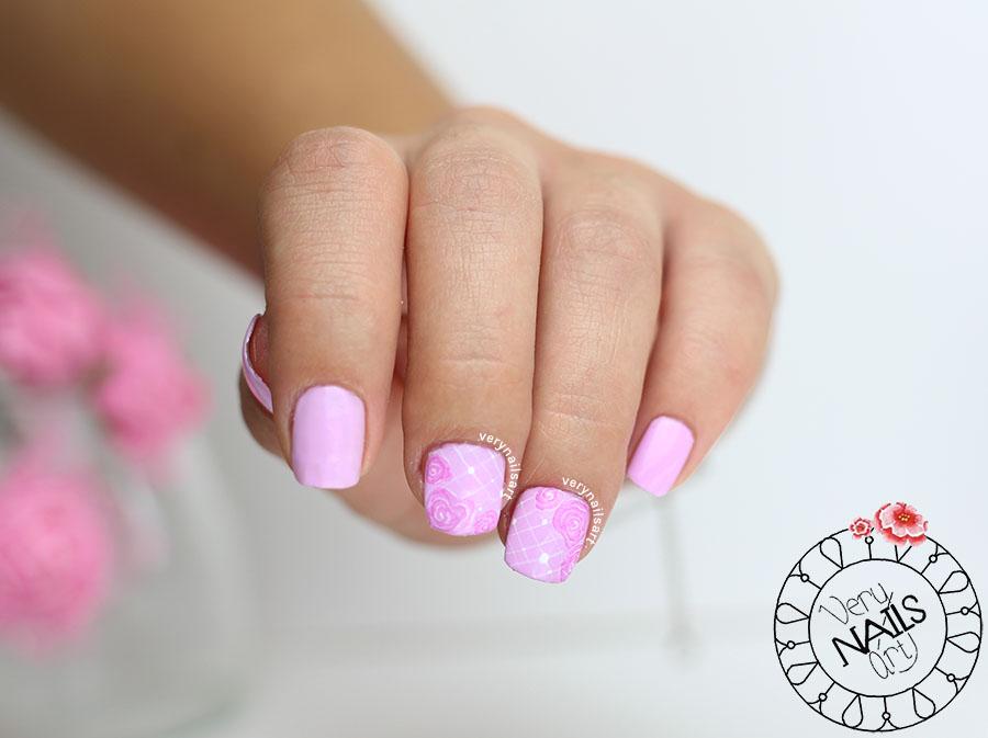 Cómo hacer una rosa con efecto acuarela paso a paso en las uñas