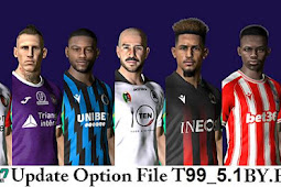 New Option File Update For T99 Patch V5.1 Final - PES 2017