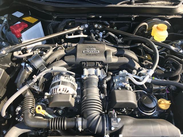 Engine in 2020 Toyota 86 Hakone Edition