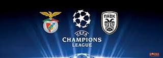 Benfica - PAOK Canli Maç İzle 21 Ağustos 2018