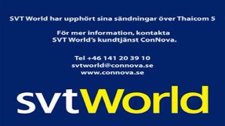 Frekuensi siaran SVT World di satelit Thaicom 5 Terbaru