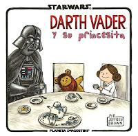 Darth Vader y su princesita