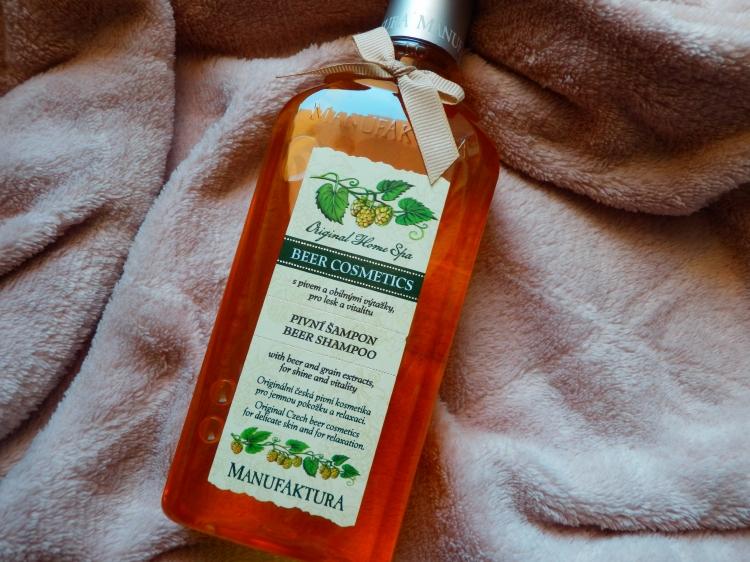 blog manufaktura, pivní šampón
