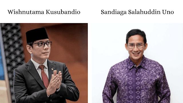 menteri baru parekraf