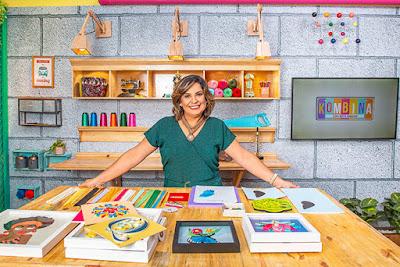 Bete Ribeiro, apresentadora do Kombina, tem novidades no programa - Juan Ribeiro/Divulgação TV Aparecida