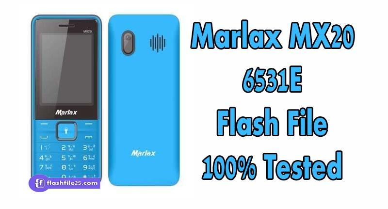 marlax mx20 flash file