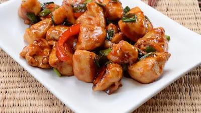 Resep ramadan: Ayam Tumis Saus Tiram