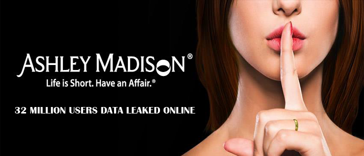 Ashley Madison Hackers Finally Released All the Stolen Data Online
