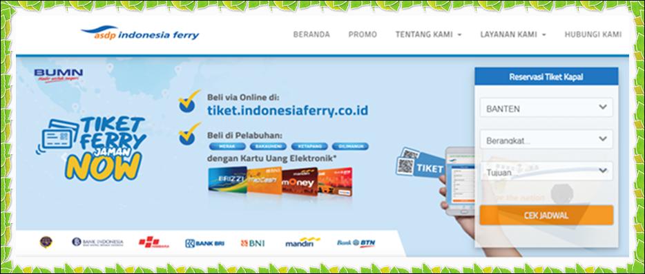 Cara Cepat Bayar Tiket Online Kapal, Merak-Bakauheni