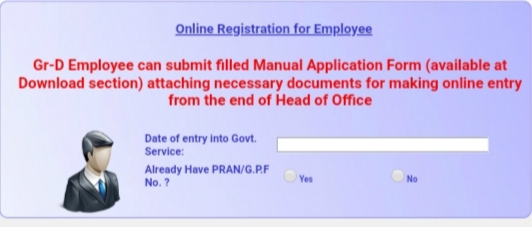 Employee Registration Procedure for West Bengal Health Scheme