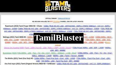 Tamilblasters bz 2021: Tamilblasters Illegal Tamil Movie Download